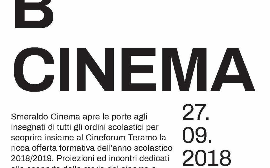ABCINEMA – Open day al cinema per gli insegnanti